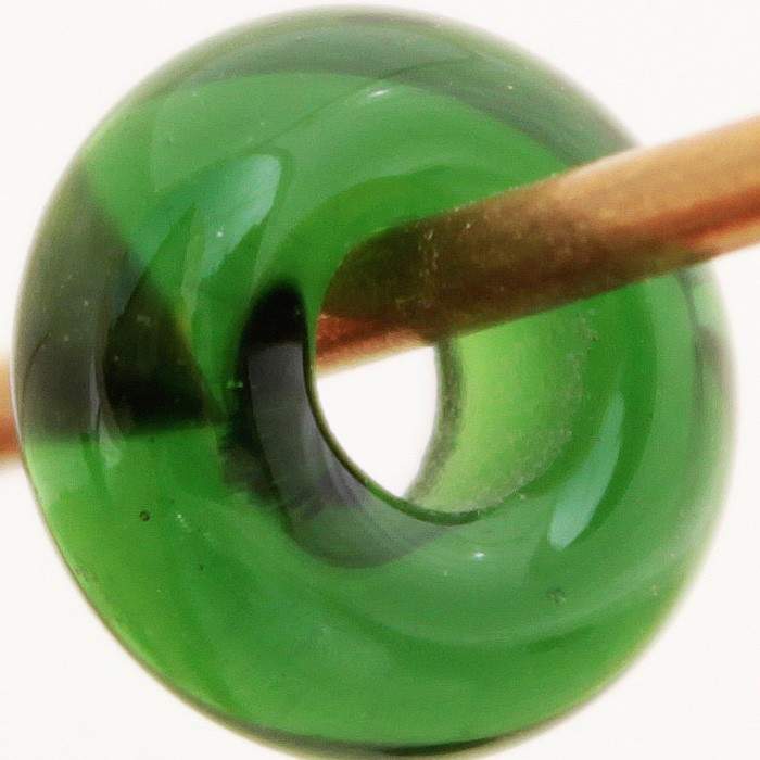 verde botella transparente liso