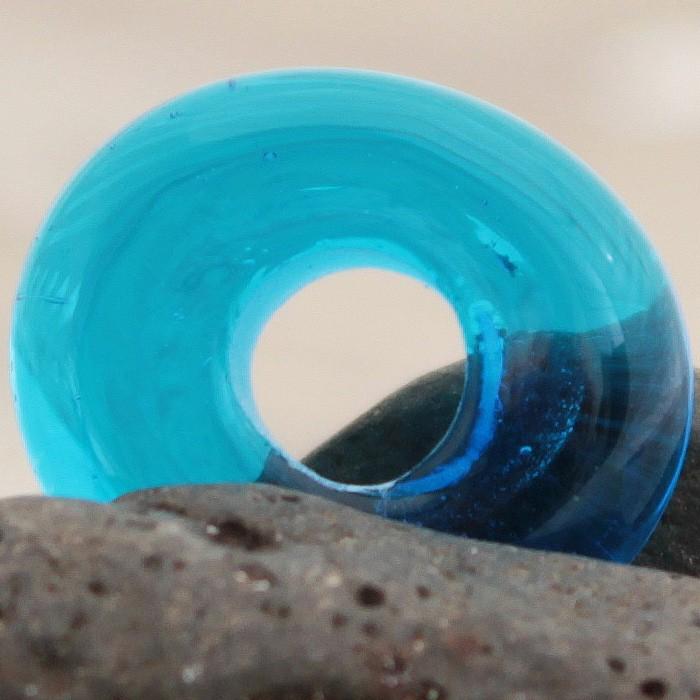 azul piscina transparente liso