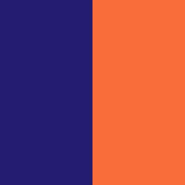 naranja zanahoria y lapislázuli