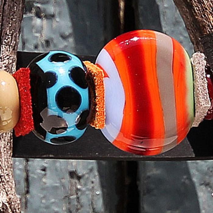 naranja coral con líneas multicolor gris, pervinca, pistacho y burdeos - negro con franja turquesa y lunares negros